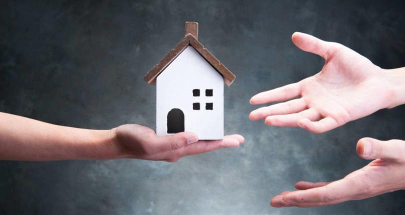 ¿Se puede ceder una parte de una casa procedente de una herencia gratis, es decir, sin tener que pagar impuestos?