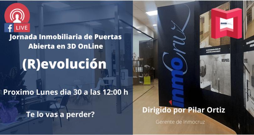 Jornadas Inmobiliarias de Puertas Abiertas en 3D ONLINE